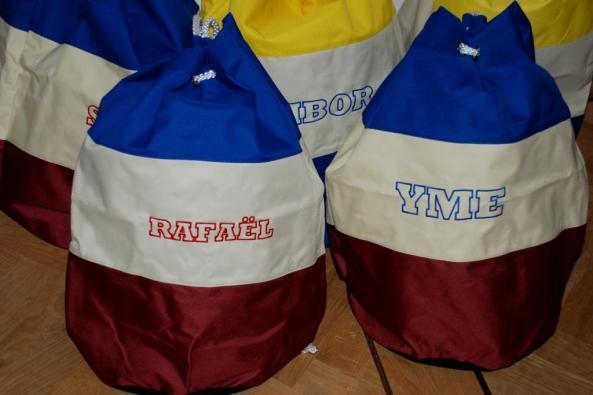 Zwemtassen Blauw-Wit-Rood