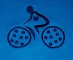 Fietsclub - logo gemaakt door Raspberry Craft