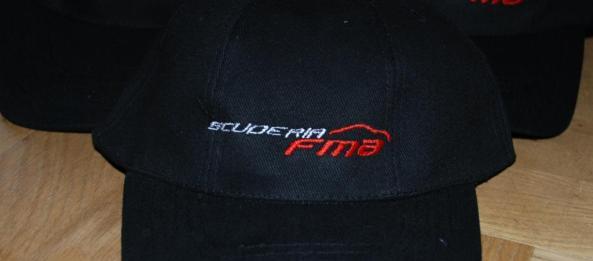 Ferrari Scuderia FMA caps
