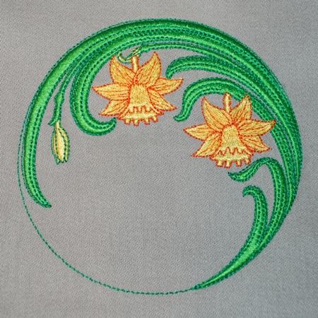 Art Nouveau Narcis