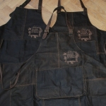 VictorRusso's Osteria leather apron