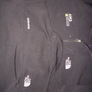 Microsoft Fleece jacks TNF