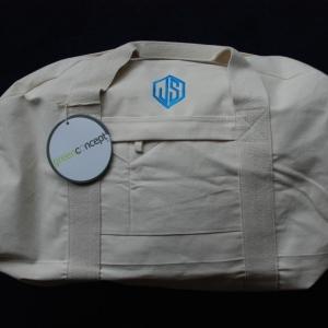 Tas met monogram per medewerker