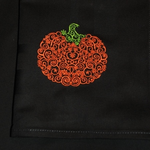 Halloween table linen